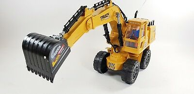 HUGE Remote Control Digger RC Toy Excavator Truck Radio Controlled Construction • 39.99£