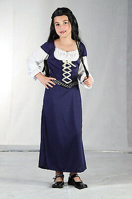 $11.10 • Buy Kids Childs Maid Marion Fancy Dress Book Week Costume Outfit Age 5 - 11 Years