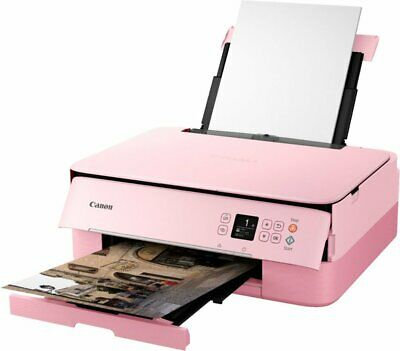 View Details Canon PIXMA Inkjet Wireless Home Office All-In-One Color Printer Copy Scan, Pink • 84.98$