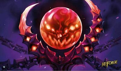 $ CDN26.71 • Buy KeyForge Age Of Ascension ~ Machinations Of Dis Playmat ~ Free Shipping