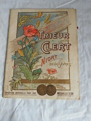 Vintage Catalogue Farm Machinery Grain Hoppers 1900 Trieur Clert  • 18£