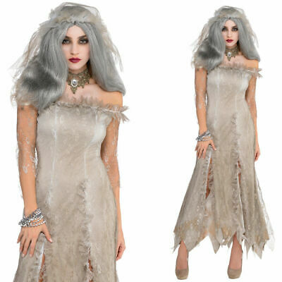 Amscan Undead Bride Zombie Horror Halloween Ladies Fancy Dress Costume • 13.99£