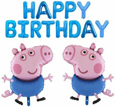 George Pig Balloon Pack- Children's Party Decorations (GEORGEBALLOONPACK) • 14.99£