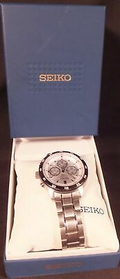 $ CDN194.68 • Buy SEIKO Chronograph 100M 4t53-00A0 Analog SS Men's Watch