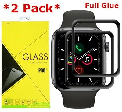 $ CDN5.71 • Buy 2X For Apple Watch 4 5 6 SE 40/44mm FullCover 3D Tempered Glass Screen Protector