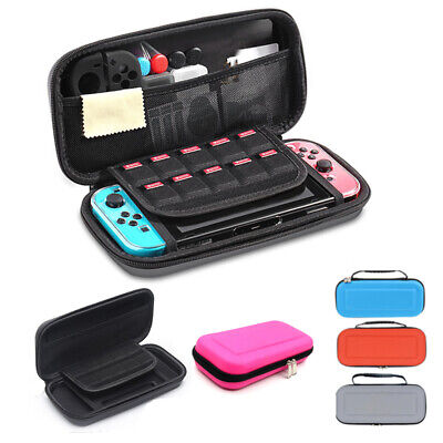 $8.69 • Buy For Nintendo Switch Carrying Case Hard Shell Portable Cover Travel Zipper Bag US