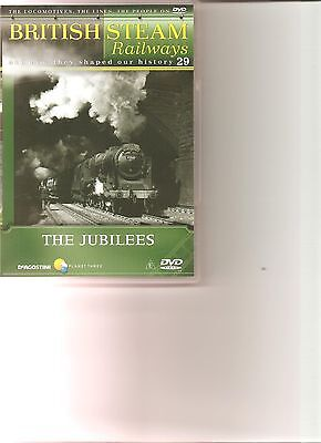 British Steam Railways (No.29) The Jubilees DVD • 4.99£