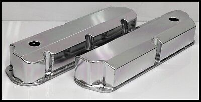 Ford FE Fabricated Aluminum Tall Valve Covers BBF 352 390 428 S-6372 • 69.95$