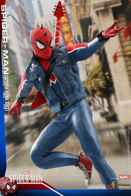 $234.99 • Buy Hot Toys PS4 Spider-Man VGM32 Spider-Punk Suit 1/6 Scale 12  Figure In Stock