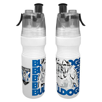 AU12.95 • Buy Canterbury Bulldogs NRL Misting Drink Bottle & Water Mister Easter Gift 2020