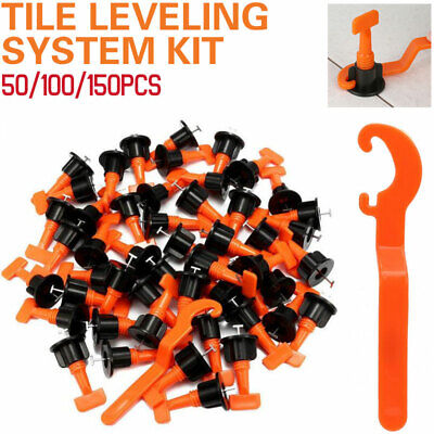 £6.99 • Buy UK 50-500x Floor Wall Tile Leveler Construction Reusable Leveling System Tools