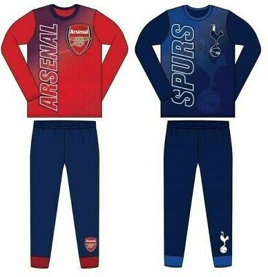 Boys Kids Official Football Club Pyjamas Age Size 4 To 12 Years PJs NEW • 7.99£