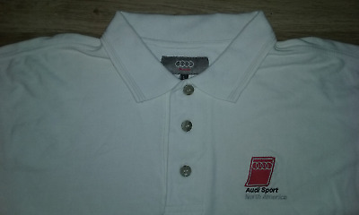 £32.01 • Buy Audi Sport North America Embroidered Polo Shirt Size L In Great Condition .!!