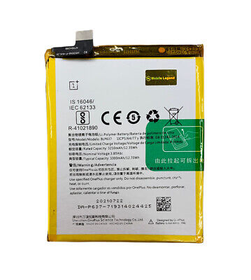 AU28.99 • Buy For OnePlus 5 / 5T Battery Replacement 3300mAh  (Model No : BLP637)