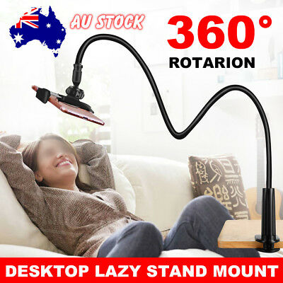 AU13.85 • Buy 360°Rotating Tablet Holder Lazy Bed Desk Mount Stand For IPhone IPad Air Samsung