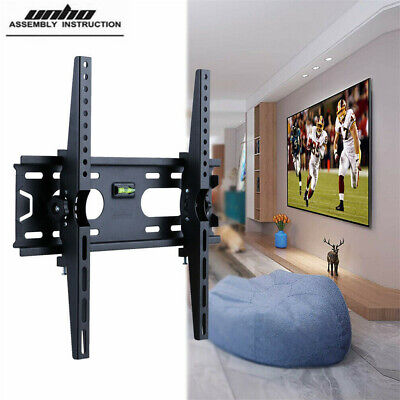 27-50  LCD LED Plasma Flat Tilt TV Monitor Wall Mount Bracket Hanger W/ Hardware • 11.94£