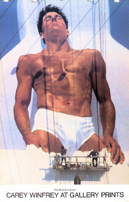 £63.01 • Buy CALVIN KLEIN Underwear Brief Encounter Bruce Weber Vintage Poster