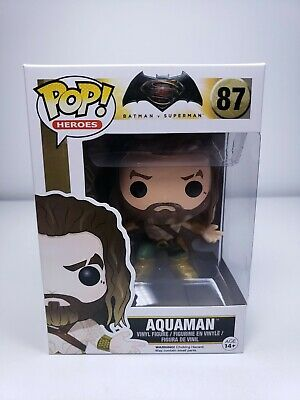 $ CDN15.32 • Buy FUNKO POP! Heroes Batman V Superman #87 AQUAMAN VINYL FIGURE Hot Toys Japan