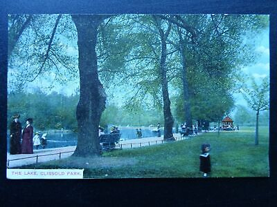 £9 • Buy Hackney Stoke Newington CLISSOLD PARK The Lake - Old Postcard By Charles Martin