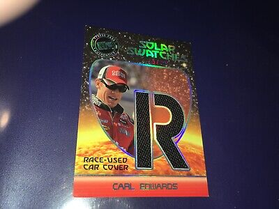 $5 • Buy Carl Edwards NASCAR 2009 Press Pass Race Used Car Cover Card 45/99