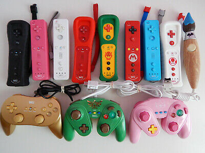 $ CDN39.48 • Buy Nintendo Wii & U Motion Plus Wiimote Wii Remotes, Pro Controllers You Choose!