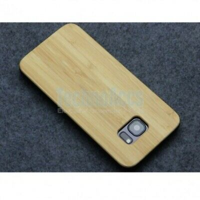 AU11.46 • Buy Bamboo Classic Wood Case For Samsung S8