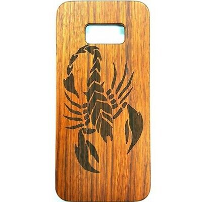 AU11.46 • Buy Scorpion Design Wood Case For Samsung S8