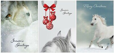 £6.99 • Buy Horse Christmas Cards - Pack Of Nine Xmas