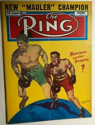 $14.99 • Buy THE RING Vintage Boxing Magazine December 1952