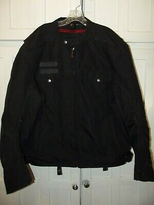 Street & Steel Anarchy Motorcycle Jacket Armour Padded Mens Sz 4XL • 72$