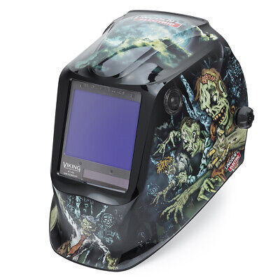 $ CDN361.19 • Buy Lincoln Viking 3350 Zombie Auto-Darkening Welding Helmet K4158-4