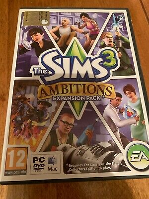 The Sims 3: Ambitions (PC: Mac, 2010) • 6.50£