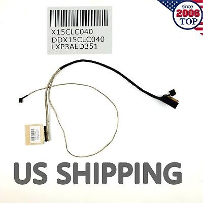 US LVDS LCD Cable For HP 15-AB 15-AB023CL 15-AB121CA DDX15CLC040 Touch 40PIN • 9.99$