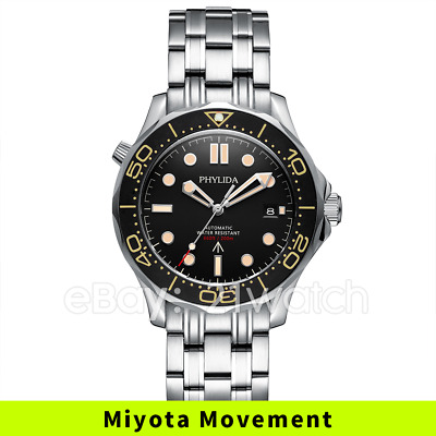 $ CDN142.50 • Buy 41mm Miyota Automatic Men's Watch Sea Master Style NO TIME TO DIE Sapphire Glass