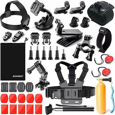 $ CDN54.80 • Buy GoPro  Action SPORT Camera Accessories Kit For Hero 7 6 5 Session 5 Black Silver