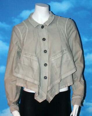 $ CDN49.99 • Buy Hei Hei Anthropologie Long Sleeve Khaki Safari Style Button Down Top Medium