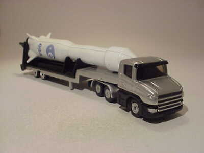 £8.85 • Buy 6.5 INCH Scania Low Loader With Rocket ESA 2006 Siku 1/72 ALL Diecast Mint Loose