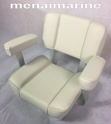Captains / Helms Boat Seat, White • 224.99£