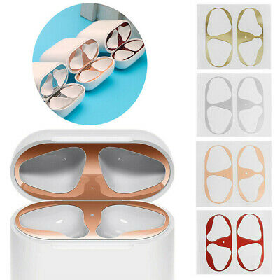 $ CDN2.86 • Buy Metal Dust Guard Protective Film Sticker Cover For Apple Airpods Accessories
