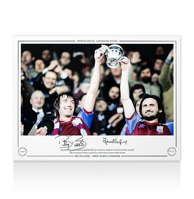 £55.99 • Buy Billy Bonds & Frank Lampard Snr Signed Photo - 1980-81 Division 2 Champions