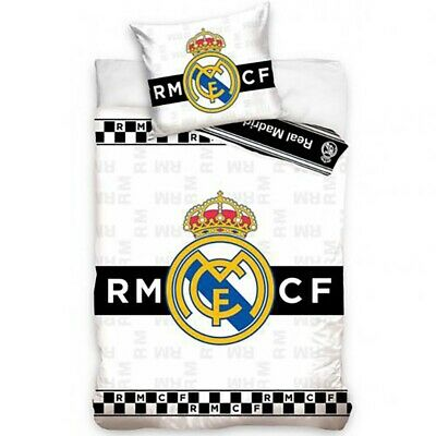 Real Madrid - Single Duvet Set (BW) • 31.99£
