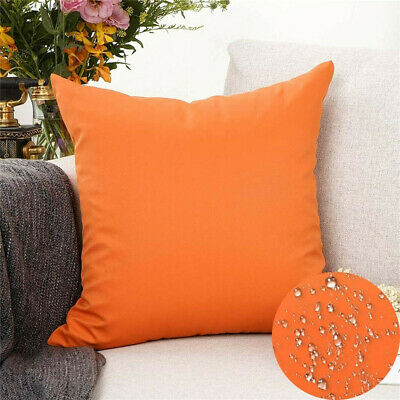 £4.96 • Buy Waterproof Cushion Cover Garden Furniture Seat Home Decor Bench Outdoor 8 Colors