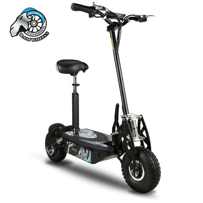 View Details Adult RAM Wheels Pro Electric Scooter E Scooter - Black 1000W 48V  • 390.00£