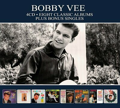 $10.99 • Buy Bobby Vee EIGHT (8) CLASSIC ALBUMS Merry Christmas MEETS THE CRICKETS New 4 CD
