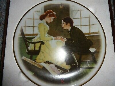 $ CDN6.90 • Buy Dave Grossman Norman Rockwell Adventures Of Huck Finn The Secret 1979 Plate