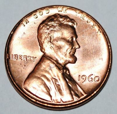 $1.29 • Buy 1960 P LINCOLN WHEAT CENT - Large Date  - BU