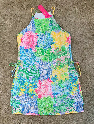 $70 • Buy NWT Lilly Pulitzer Pearl Romper Multi Cheek To Cheek Size 4 Free Shipping $168