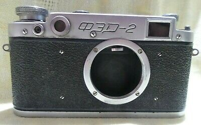 $49.99 • Buy FED 2 Vintage Russian Leica M39 Mount Camera BODY Only     0789