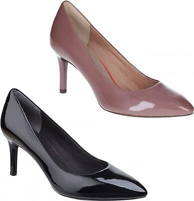Rockport TOTAL MOTION POINTY Ladies Womens High Quality Leather Court Shoes • 63£