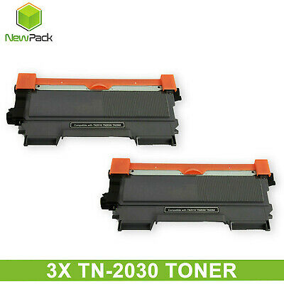 AU36.95 • Buy 3x TN2030 TN-2030 Toner Cartridge Brother DCP7055 HL2130 HL2132 HY 2600 Pages